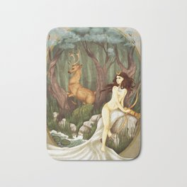 Diana and Actaeon Bath Mat