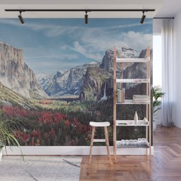 Tunnel View Yosemite Valley Wall Mural
