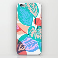 Colorful Pothos Plant iPhone & iPod Skin