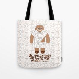 Gandhi Tote Bag