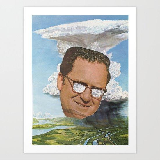 Storm Head Art Print
