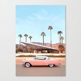 Palm Springs Canvas Print