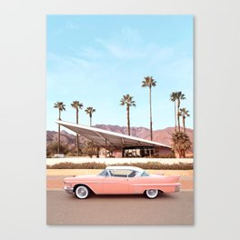 Palm Springs Canvas Print