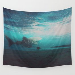 Sharks Don't Sleep Wall Tapestry