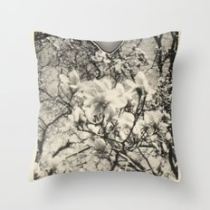 magnolia +1 Throw Pillow