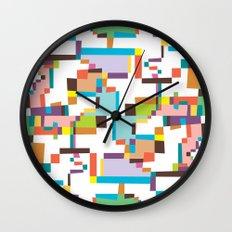 Reflections 3 Wall Clock