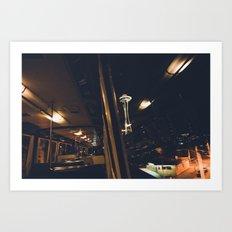 The Monorail Art Print