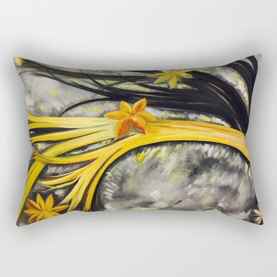 stand out from the crowd Rectangular Pillow