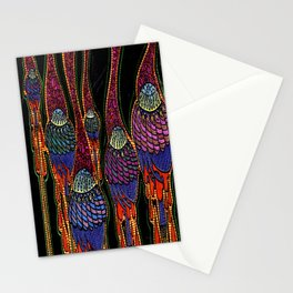 Atmospheric Poppies Stationery Cards