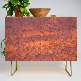 Percolated Sunset in Warm Tones Credenza