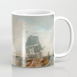 """J.M.W. Turner """"Shipping at the Mouth of the Thames"""" Coffee Mug"""