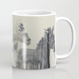 Like a Horse in the woods Coffee Mug