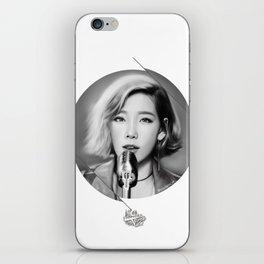 Taeyeon - Rain - Digital Art iPhone Skin
