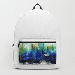 Venice Gondola painting Backpack