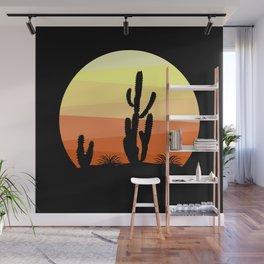 Mexican desert Wall Mural