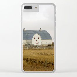 Happy Barn Clear iPhone Case