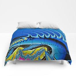 Echo Fractal Art Comforters
