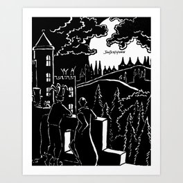 Quests For Adventure Art Print