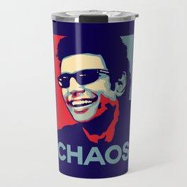 'Chaos' Ian Malcolm (Jurassic Park) Travel Mug