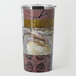 textures and doodles 1 . artwork Travel Mug