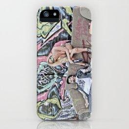charlie classic hungover iPhone Case