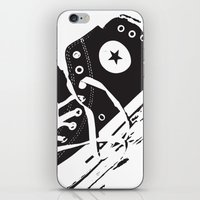 converse iPhone & iPod Skins featuring CONVERSE by PixelRiff
