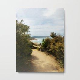 Coastal Path (Aireys Inlet) Metal Print