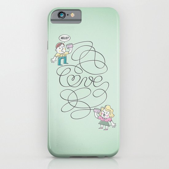 Long Distance Call iPhone & iPod Case