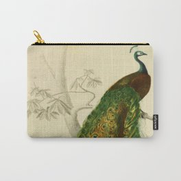 Naturalist Peacock Carry-All Pouch