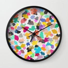 buttercups 2 sq Wall Clock