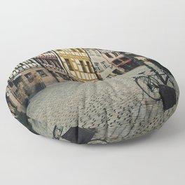 Old Town Floor Pillow