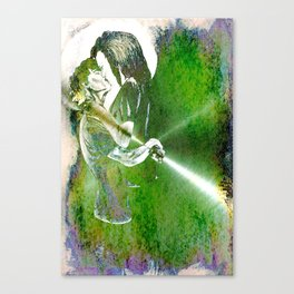 Stephen and Willow 3 Canvas Print