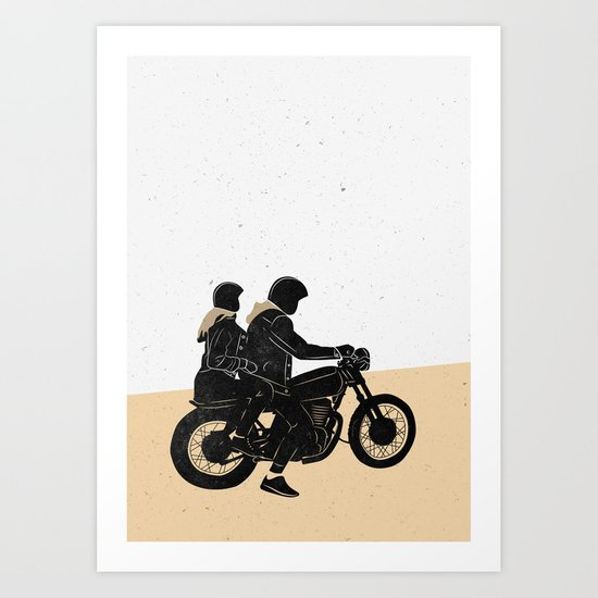 Road to the Throne Art Print