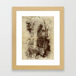 paleo warrior Framed Art Print