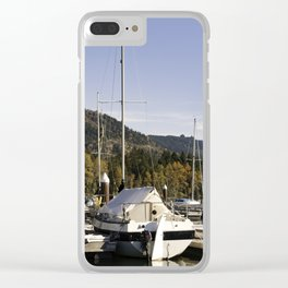 Lowell Oregon Recreation Park Clear iPhone Case