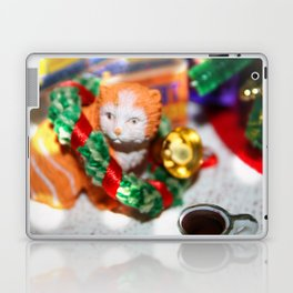 Christmas Cat Laptop & iPad Skin