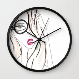 Lady Boss Wall Clock