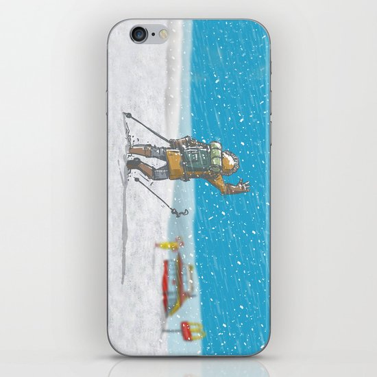 Freeze iPhone & iPod Skin