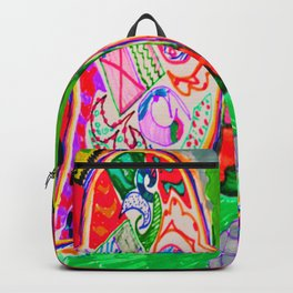 Pop Angel by Elisavet Backpack