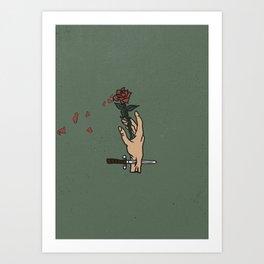 Rose - I Art Print