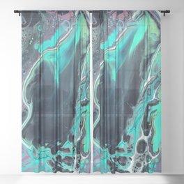 Caribbean Trance Sheer Curtain