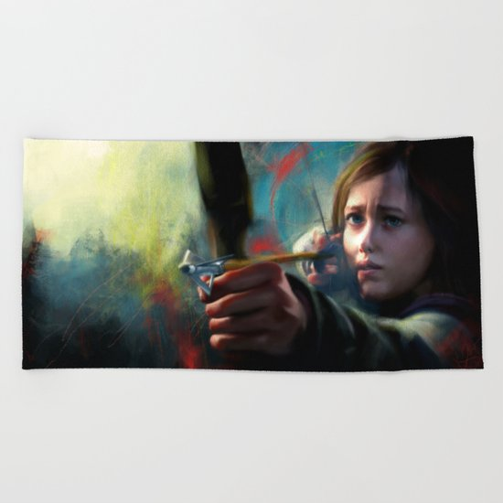 The Last Of Us: Ellie Beach Towel