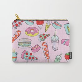 Pastel Junk Food Carry-All Pouch