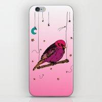 birdy iPhone & iPod Skins featuring Birdy by Gwladys R.