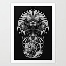 Trimurti Art Print