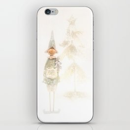 Christmas Elf iPhone Skin