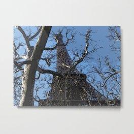 Eiffel Pastel, trois  Metal Print