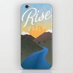 Rise Early iPhone & iPod Skin
