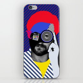 Solomun By Sebas Rivas iPhone Skin