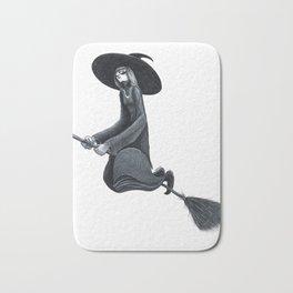 black witch Bath Mat